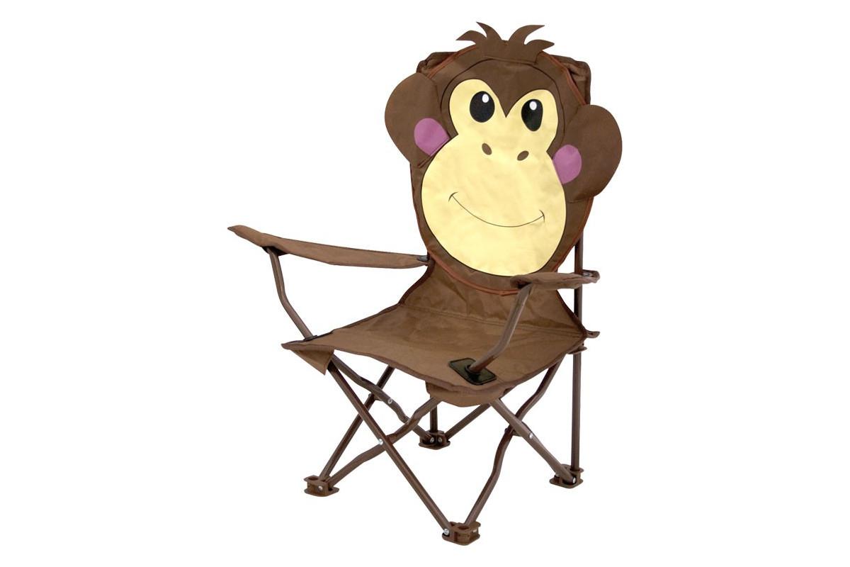 Kids Folding Chair Animal Monkey Zbaby