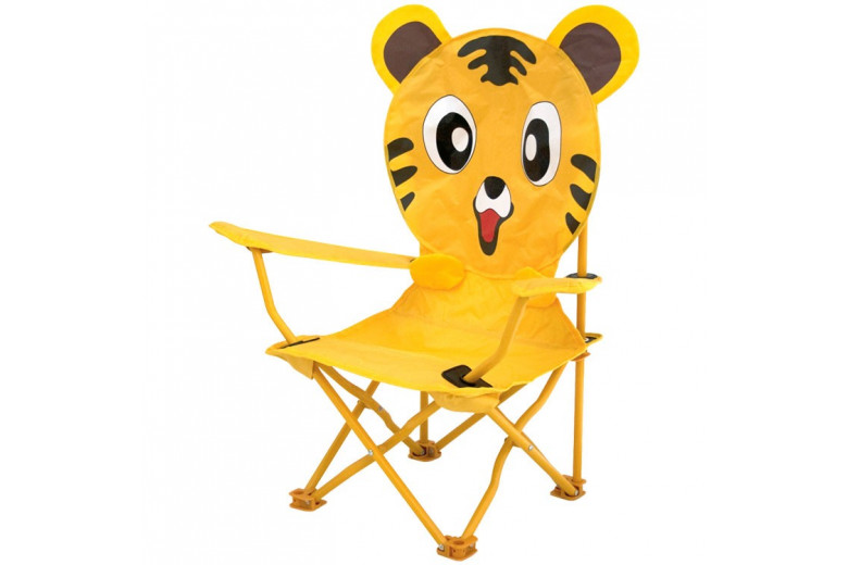 Kids Folding Chair Animal Tiger