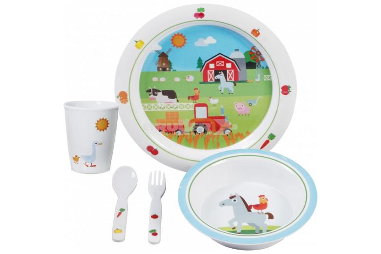 Σετ φαγητού Farm Kids Boy 3+