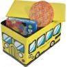 Κουτί αποθήκευσης - παιδικό σκαμπό - σχολικό λεωφορείο