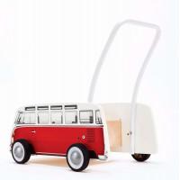 Καροτσάκι - Στράτα VW T1 BUS Baby Walker, Κόκκινο