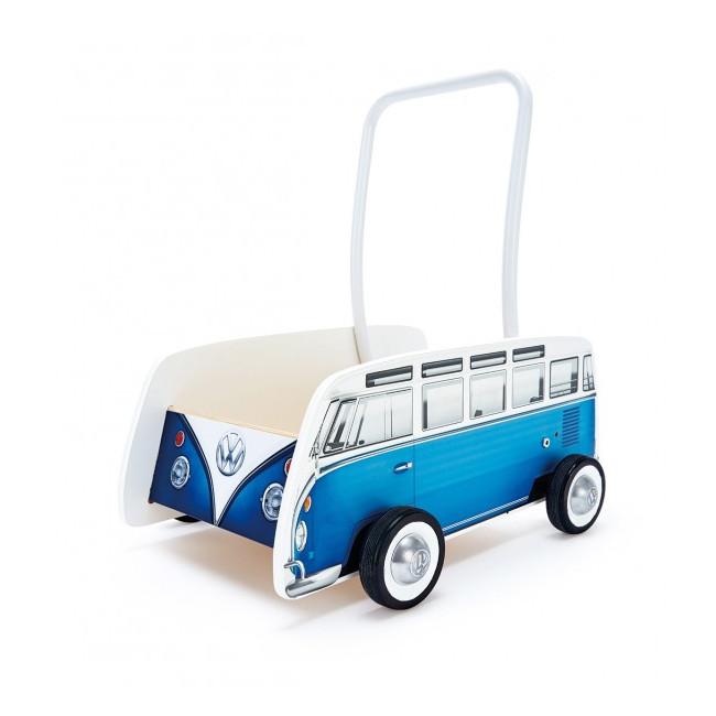 Καροτσάκι - Στράτα VW T1 BUS Baby Walker, Μπλε
