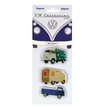 Μαγνητάκι ψυγείου T1 Bus 3τμχ, Transporter