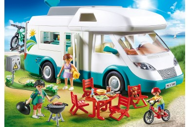 Αυτοκινούμενο οικογενειακό τροχόσπιτο PLAYMOBIL
