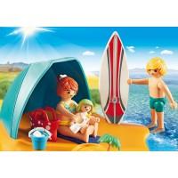 Οικογενειακή διασκέδαση παραλία PLAYMOBIL