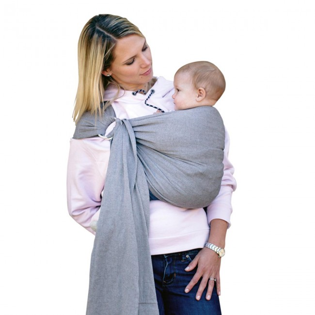 Μάρσιπος Amazonas Ring Sling Grey