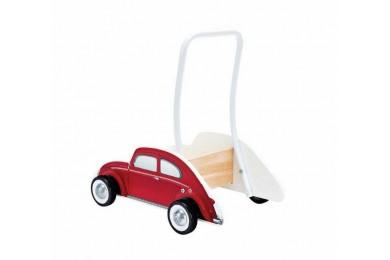 Καροτσάκι - Στράτα VW Σκαραβαίος Baby Walker, Κόκκινο