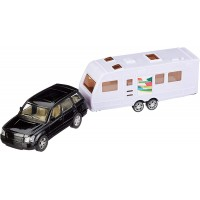 Passenger Car with Caravan