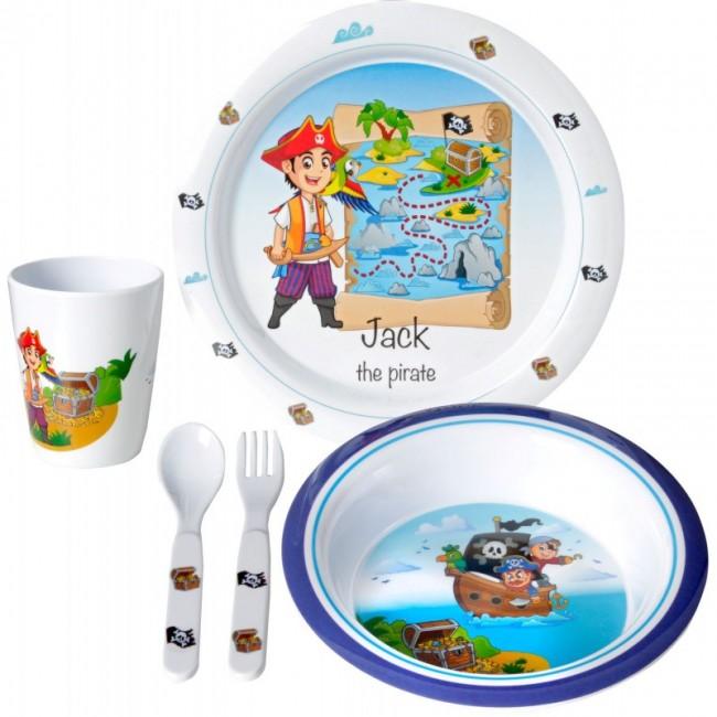 Σετ φαγητού Jack Kids Boy 3+