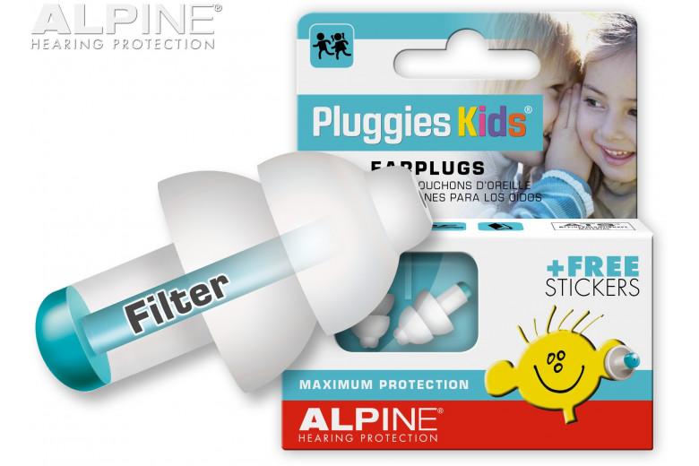 Παιδικές ωτοασπίδες Pluggies Kids