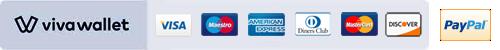 Ασφαλείς συναλλαγές  - Paypal - VivaWallet
